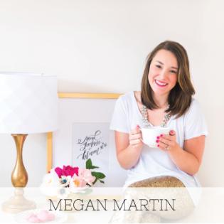 Megan Martin, Branding Strategist for Creatives